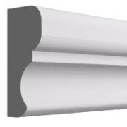 Высота по стене: 35 мм.;  Ширина: 15 мм. ;  Цена: 225,00 руб.