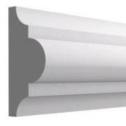 Высота по стене: 40 мм.;  Ширина: 18 мм. ;  Цена: 240,00 руб.