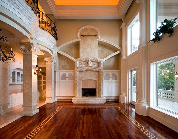 Фото дизайна гостиной в стиле Барокко