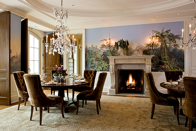 фото гостиной в стиле классицизма