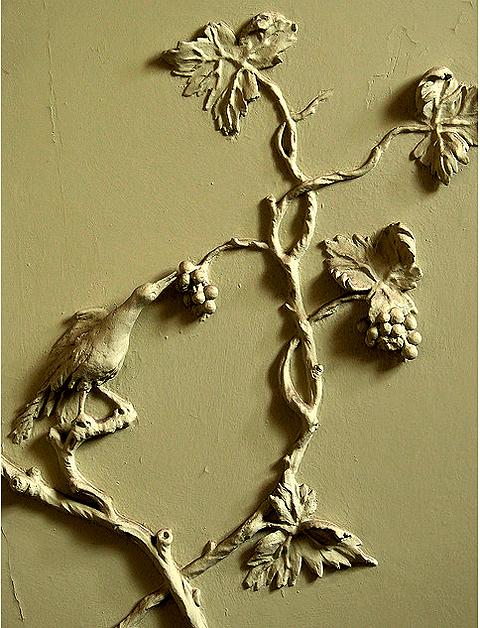 фото лепнины из гипса в стиле Рококо