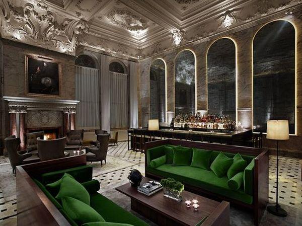 Гипсовая лепнина в ресторане или банкетном зале — роскошь и практичность