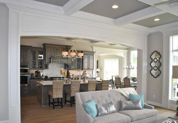 Кессонные потолки из гипса — стиль и респектабельность