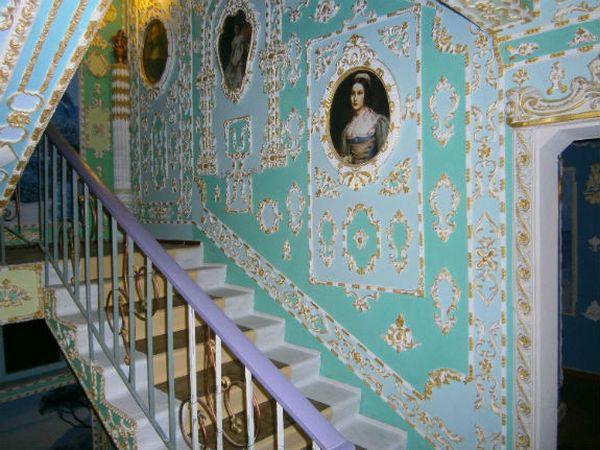 Магия гипсовой лепнины или Лувр в киевском подъезде