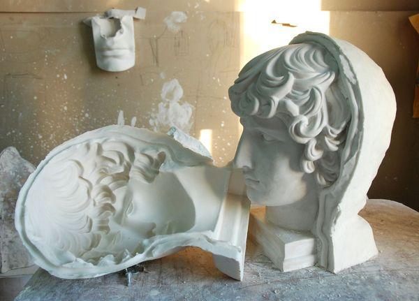 Значение гипсовой лепки и отливки в мировой истории и художественном искусстве