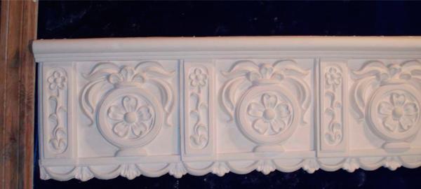 Гипсовые фризы – возрожденный лепной декор