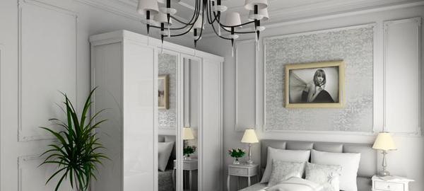 Советы дизайнера: лепнина в интерьере спальни