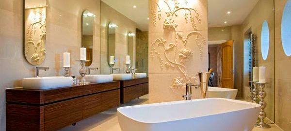 Гипсовая лепнина в ванной комнате: Роскошно! Стильно! Возможно?