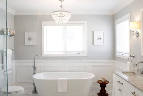 Гипсовая лепнина в ванной комнате