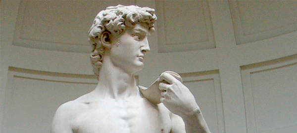 Великие гипсовые скульптуры: о фиговом листке Давида