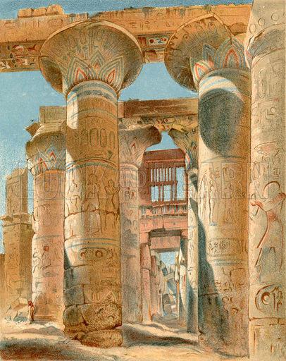 Лепнина из гипса в Древнем Египте