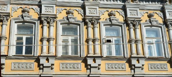 Гипсовая лепнина на фасадах — идеальная отделка