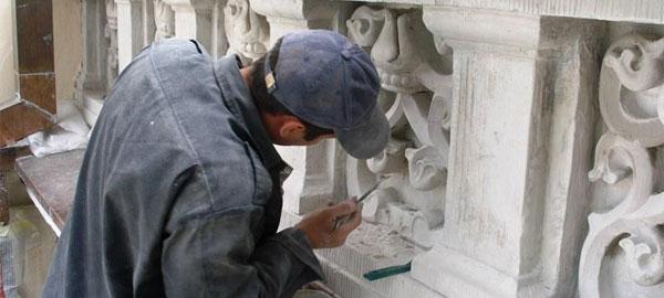 Реставрация гипсовой лепнины