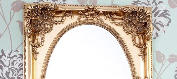 Рамки для зеркал из гипса