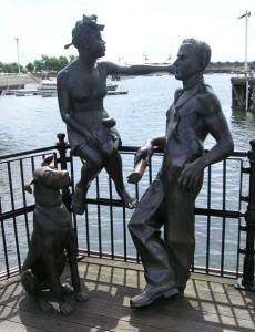 Бронзовая скульптура фото