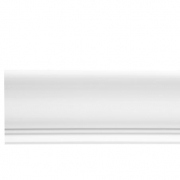 Высота по стене: 135мм;  Ширина по потолку: 115мм;  Цена: 875,00 руб. за 1 м.п.