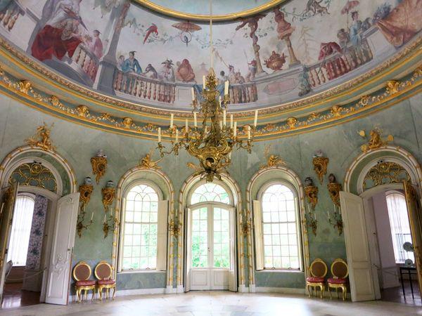 Дворец Сан-Суси – архитектура, скульптура