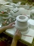 Работа над моделью капители