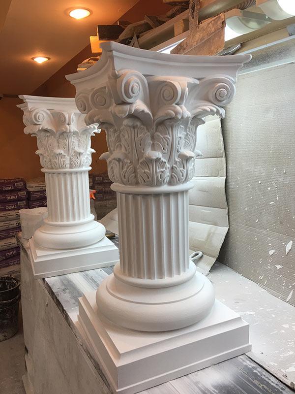Дизайн для внутренней отделки дома лепниной