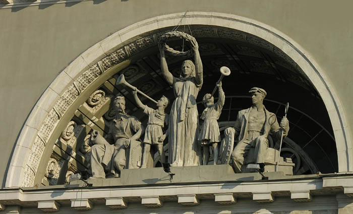 Сталинский Ампир - Лепнина из Гипса