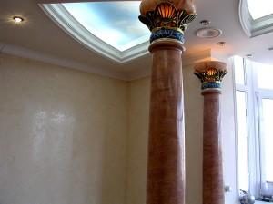 Декорирование лепнины