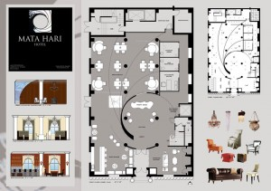 Проектирование дизайна интерьера