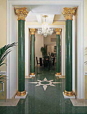 Фото колонн из гипса