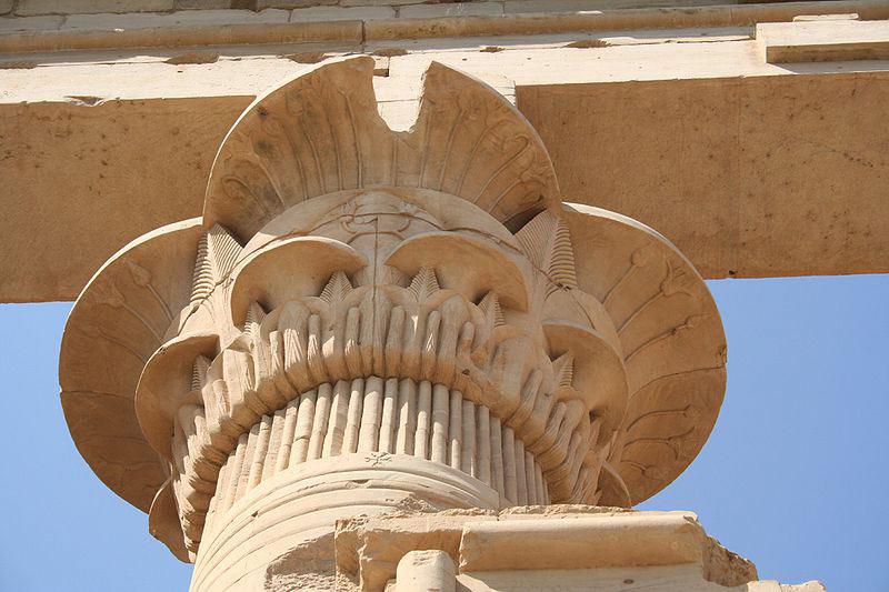 Лепной декор в Древнем Египте