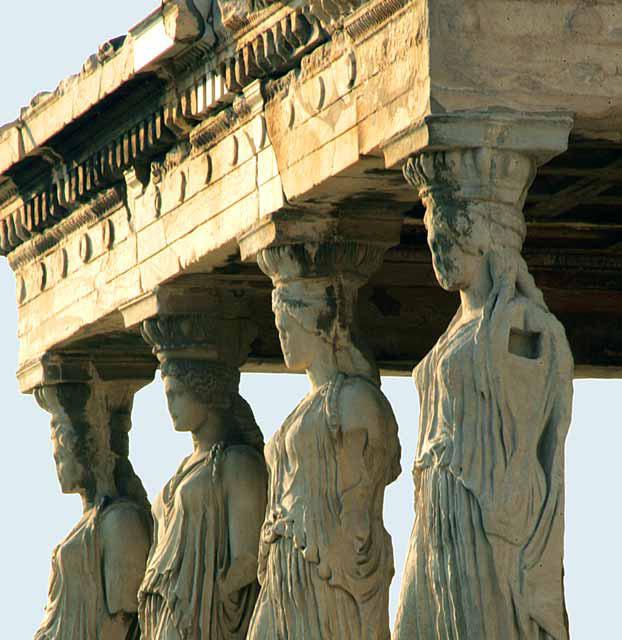 Лепнина из гипса в Древней Греции и Риме