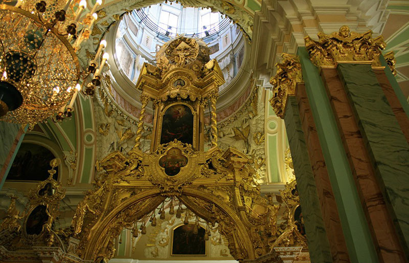 Лепнина Петропавловский собор