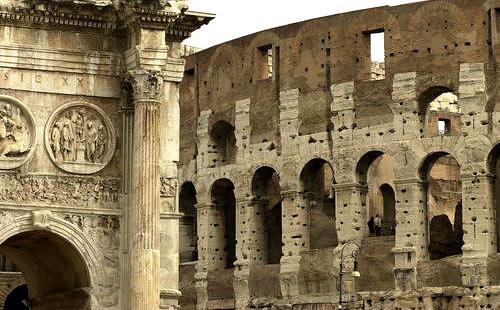 Лепной декор в Риме