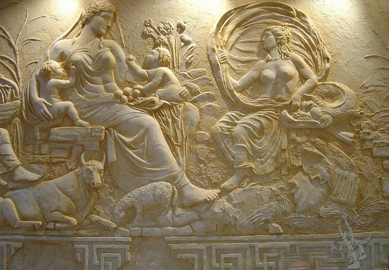 Лепной декор в Древней Греции