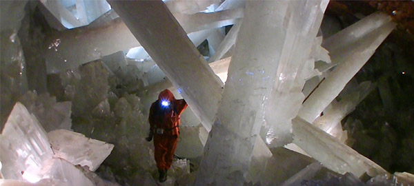 Пещера Naica - чудеса природного гипса