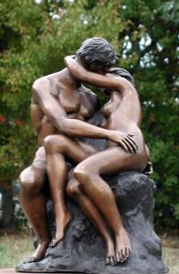 Фото скульптуры из бронзы
