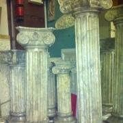 165 ; Гипсовые колонны под камень