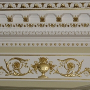 224; Декорирование лепнины
