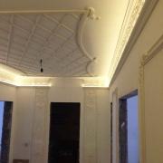 318; Потолочная лепнина, кессоны