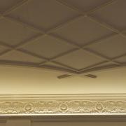 323;Потолочная лепнина, кессоны