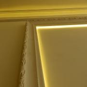 335;Гипсовая рама с подсветкой