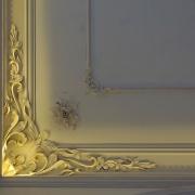 328;Потолочная лепнина, ручная лепка