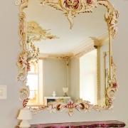 363; Зеркало, ручная лепка