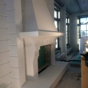 481; Гипсовый камин в интерьере