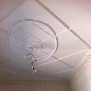 17; Оформление потолка гипсовым декором